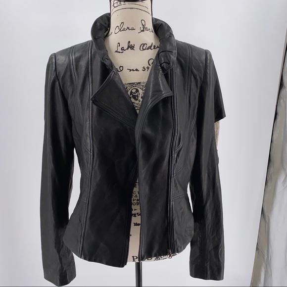 Elie Tahari Jackets & Blazers - 🆕🆙Elie Tahari Celine Genuine Leather Jacket